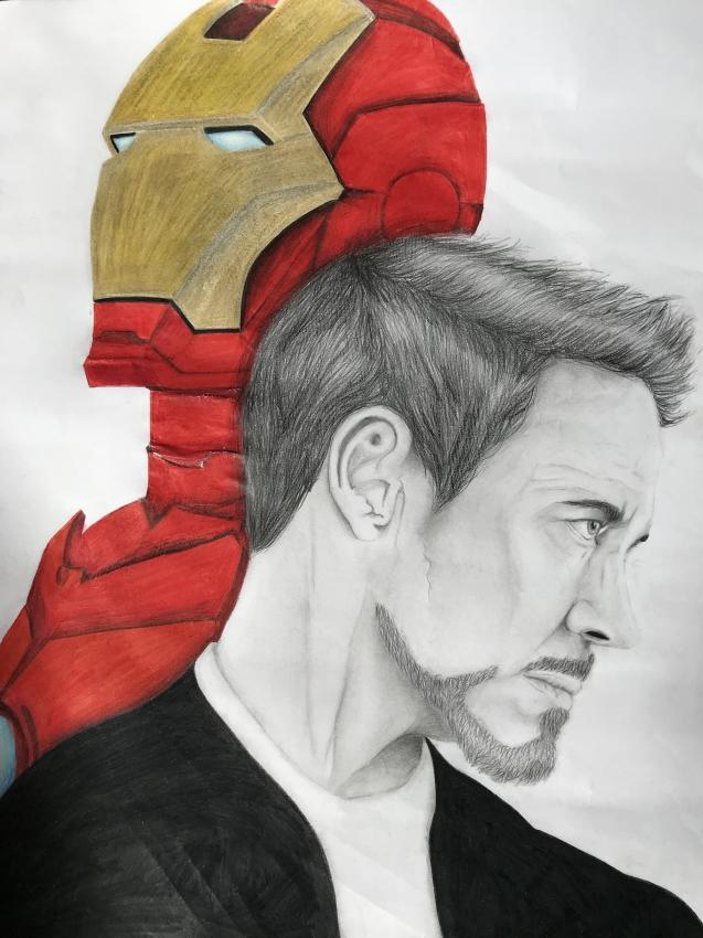 Robert Downey Jr by Riseup20